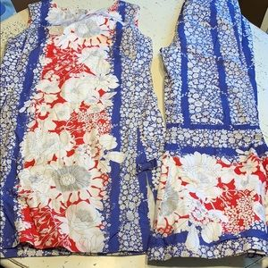 Lilly Pulitzer vintage shift and pant set 6 and 4